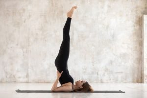yoga neck stretch
